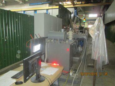 Стенд для испытаний трансформатора