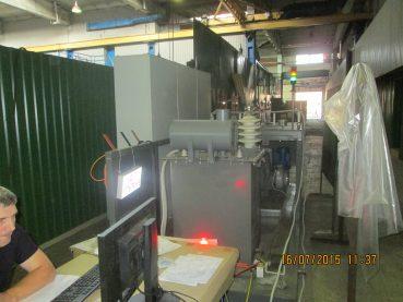 Стенд для испытания трансформаторов до 5 МВт