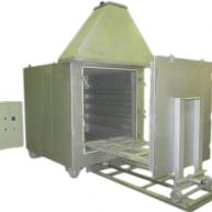 Печи сушильные и обжиговые для обмоток электродвигателей
