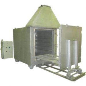 Установка обжиговая, печь обжиговая