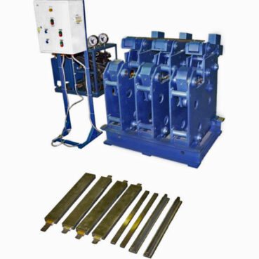 Установка для опрессовки и выпечки секций статоров