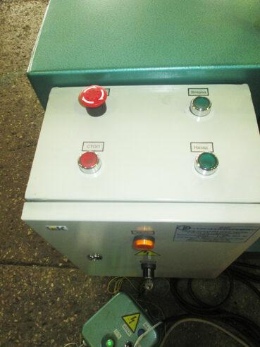 Пульт управления станка для гофрирования электрокартона