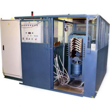 Установка для опрессовки и испытания секций якорных катушек тяговых электродвигателей