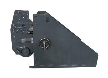 Устройство для натяжения стеклоленты при наложении бандажа с открытой боковиной