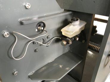 Устройство для натяжения стеклоленты вид 4