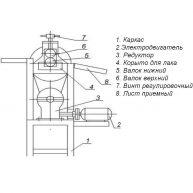 Станок для нанесения лака на электрокартон