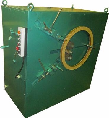 Станок для обработки колец из электрокартона