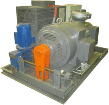 Индукционный регулятор с трансформатором