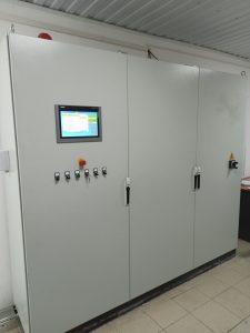 Шкаф управления установки вакуумной пропитки