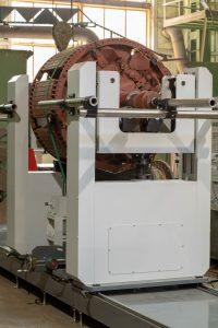 Балансировочный станок для роторов МБ-12000 РИФЖ 041863.005 вид с торца