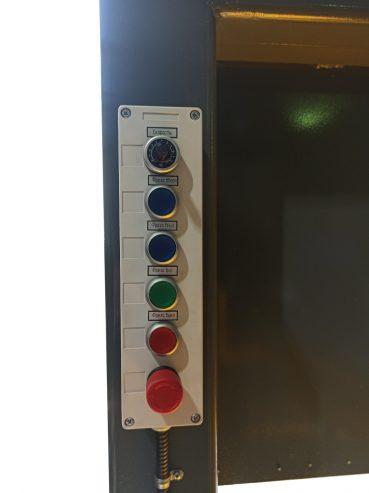 Пульт управления станка для удаления всыпных обмоток