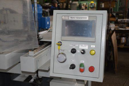 Панель управления станка для ремонта роторов электродвигателей