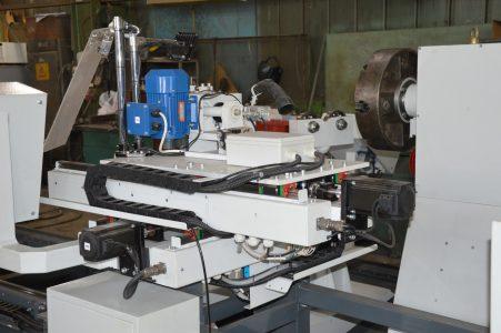 Наладка станка для ремонта роторов