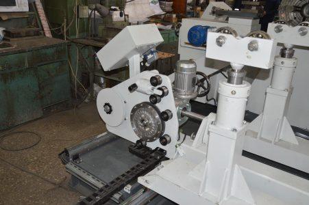 Подвижная часть, ролики станка для ремонта роторов