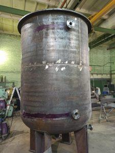 Автоклав вакуумной пропитки в процессе изготовления