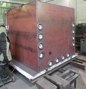 Изготовление установки печи обжиговой с фронтальной загрузкой РИФЖ 681591.009