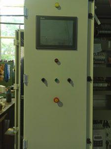 Шкаф управления вакуумно-нагнетательной пропитки сборка, главный вид