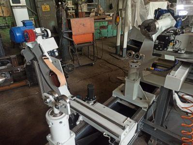 Производство станка для ремонта роторов и якорей электродвигателей