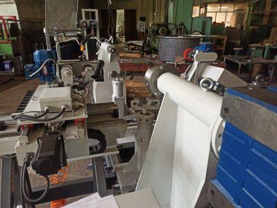 Сборка станка для ремонта роторов и якорей