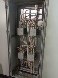 Силовая часть стенда для испытаний электродвигателей