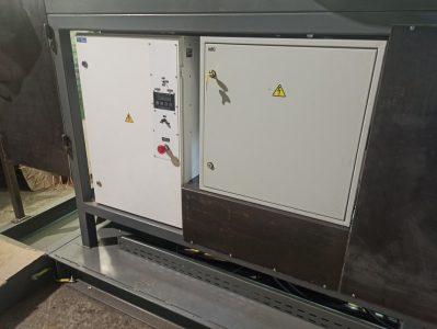 Электрические шкафы стенда для испытаний электродвигателей