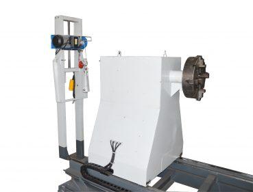 Задний вид станка для ремонта фазных роторов