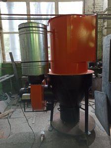 Воздушная установка камеры обдува статоров