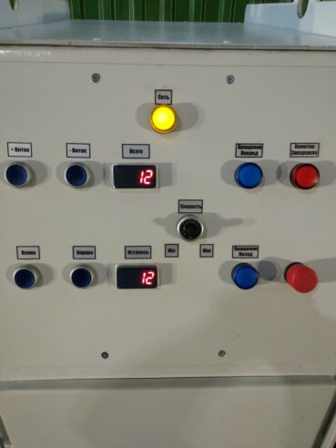 Панель управления станка намоточного
