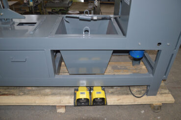 Педали управления станка для удаления всыпных обмоток статора